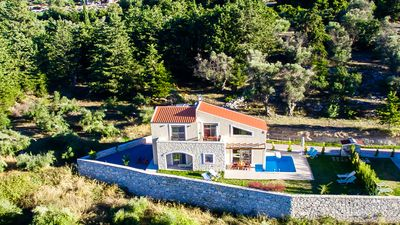 Photo for Brand new 3 bedroom villa, private pool & BBQ  with stunning views!