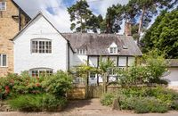 Lovely cottage, shame about the TV!