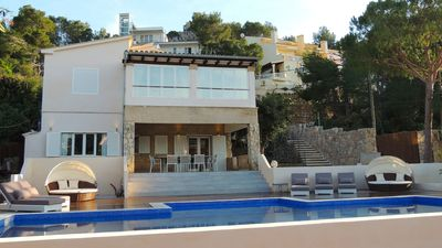 Photo for A large luxury, Contemporary villa, lots of space to accommodate 1-3 families