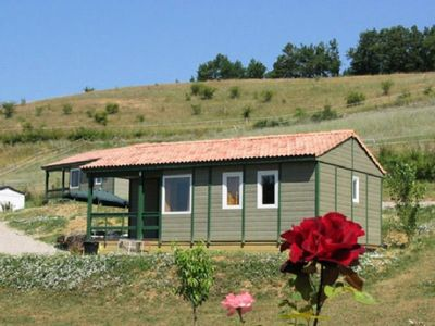 Photo for Camping Le Bourdieu *** - Chalet 4 Rooms 7 People