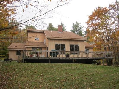 Photo for Spacious, Secluded 3 Bedroom House 5 Minutes from Okemo