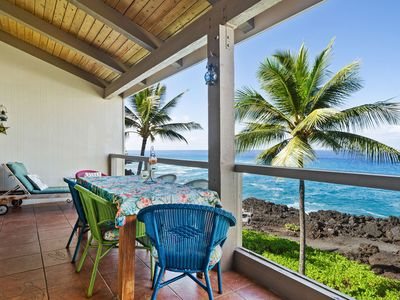 Photo for Absolute Oceanfront Penthouse - 3 Bedroom 3 Bath - FREE AC thru outSleeps up to 8 -Tennis & Beach