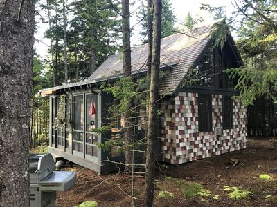 Photo for Michael's Cabin - A Cozy Well-Designed Cabin For A Woodsy Retreat