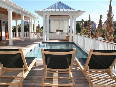 Pool Deck with Gazebo