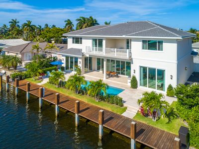 Photo for $8 Million Waterfront  Residence  with Private Dock | Pool | Built in 2019