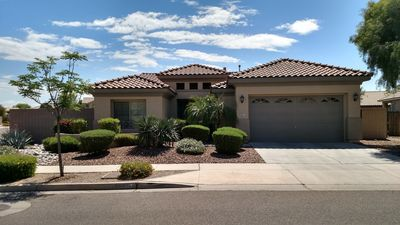 Beautiful corner lot with easy accessibility.