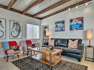 Photo for Remodeled Manhattan Beach Townhome, Walk to Ocean!