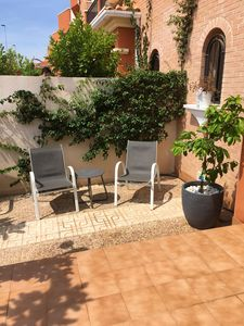Photo for Homerez last minute deal - Nice house with shared pool and Wifi