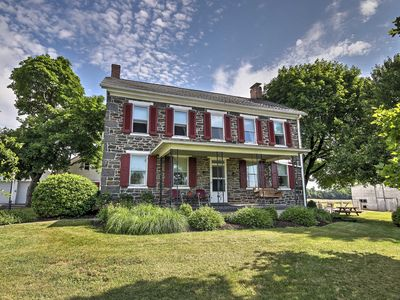 Photo for Historic Gettysburg House w/ Porch & Heated Pool!