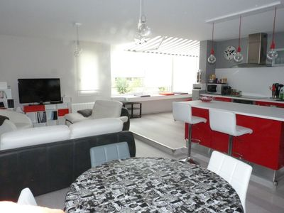 Photo for Luxury apartment 5 minutes from the coast of Basques.
