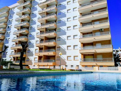 Photo for Ninth floor apartment with three bedrooms and fabulous sea views!