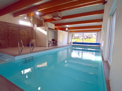 Photo for A cottage with a heated indoor swimming pool in a quiet village (10mn Dinant)