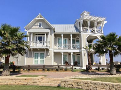 Photo for Relax in this designer beach home with amazing Gulf Coast views