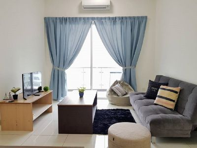 Photo for Puchong 11 Pax IOI Mall LRT Cozy Apartment Skypod