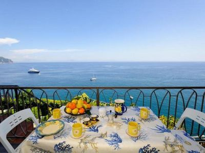 Photo for THE TERRACE ON THE SEA - RAVELLO