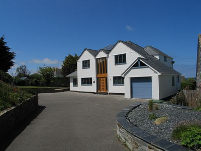 Photo for Immaculate Individual Contemporary House overlooking Trevone Bay