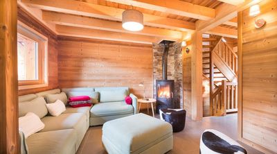 Photo for Superb upscale chalet for 12 people, near the center and the ski lifts