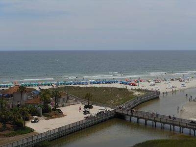 Photo for Oceanfront 3BR/3BA Just Purchased-Just Redecorated! Front And Center 7th Floor!