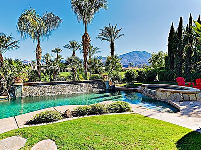 Photo for New Listing! Private Pool, Spa & Mountain Views at All-Suite PGA West Dream
