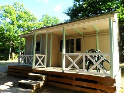 Photo for Camping Castanhada ** - Chalet Eco Blanc 3 rooms 4 persons