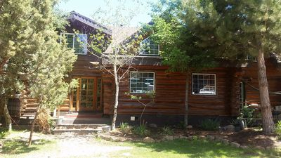 Photo for Centrally Located Log Home In Private Setting
