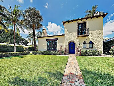 Photo for New Listing! Enchanting Updated Spanish-Style Villa w/ Private Courtyard