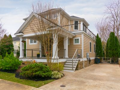 Photo for Contemporary and Gorgeous 4BR Home w/ Elevator, Hot Tub, Media Room & 3 Master Suites