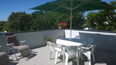 Photo for Apartment in Saint Marc sur Mer, large terrace facing south near sea