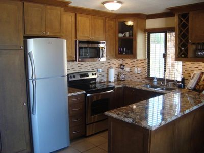 newly remolded kitchen