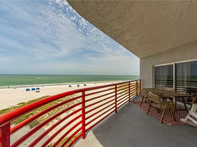 Photo for Top Floor Luxury 1400 sq ft, Direct Beach Front Views 2b 2b - Free Wifi - Crimson 301