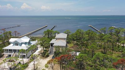 Photo for New Listing!  Amazing executive bay front home with 500' dock, beach gear.
