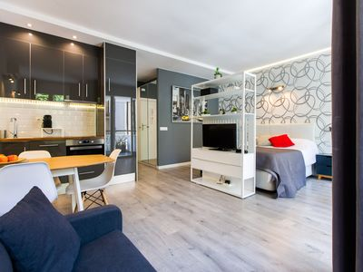 Photo for Stylish studio and terrace in Poblenou