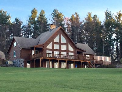 Photo for Spectacular all seasons, well equipped, private retreat with stunning views.