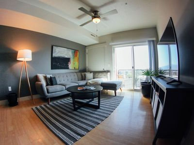 Photo for Downtown Mid Mod 2BR /2BA Hot Tub, Gym & City view - Unit 421