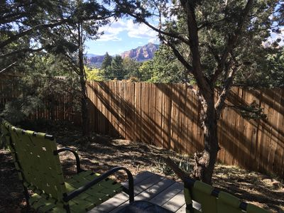 West Side Red Rock/Vortex View from Your Private Patio