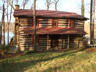 This may look like a simple log cabin but do not be fooled!  Fully renovated!