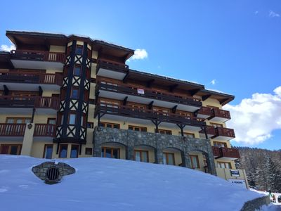 Photo for Appt 6/8 pers la plagne / coaches / bows / paradiski free wifi