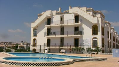 Photo for Large Luxury La Zenia Penthouse 2 Bed South Facing  inc A/C Pool Solarium WiFi