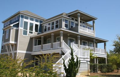 Photo for Our Mulligan: Modern Beach Home with Private Pool, Elevator & Views!