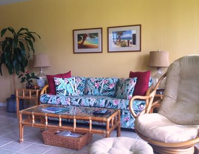 Photo for Beautiful 1BR/1BA. End Unit. Fab Golf Course View. FROM $135/nt.  5nt. Min