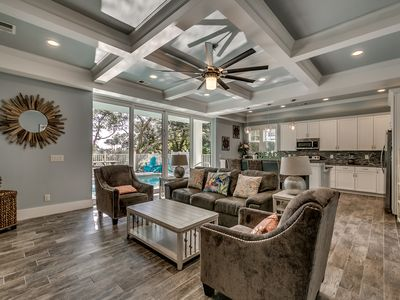Photo for · Private 4BR Beach House with Private Pool, All Luxury Finishes