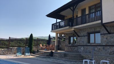 Side View of Villa