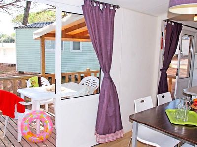 Photo for Camping Les Cigales **** - Mobile home Texas 4 Rooms 8 People