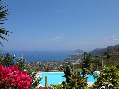 Photo for Very nice and generous apartment in the middle of charming Mediterranean nature