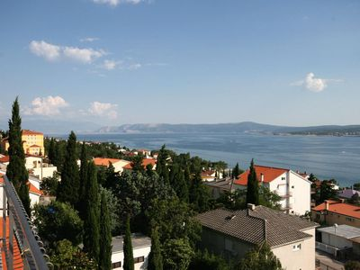 Photo for Studio flat with balcony and sea view Crikvenica (AS-5555-d)