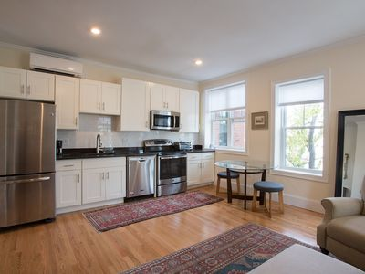 Photo for Gorgeous, New, Historic, Sunny, AC, Fully Equipped Luxury Living. Boston, Pking