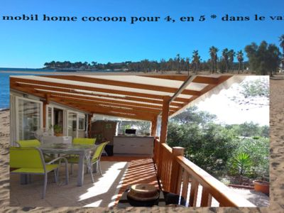 Photo for mobile home cocoon for 4 in 5 stars, on the french riviera