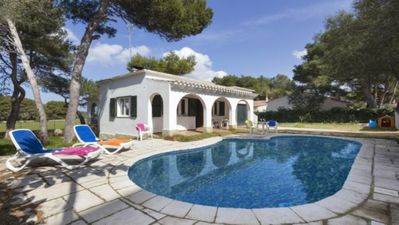 Photo for Villa With Private Pool 5 Minutes Walk To The Beach Of Cala Blanca