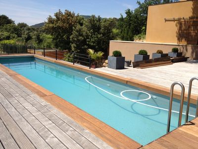 Photo for Exceptional Modern House With  Pool And Outstanding Views Close To Mont Ventoux