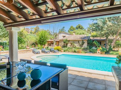 Photo for Charming Mallorcan style rustic finca. with pool, wifii, and large garden.
